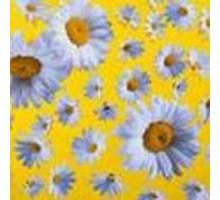 "Салфетка 33х33 см  3-х слойная, VIVA, ""Свежие цветы"""